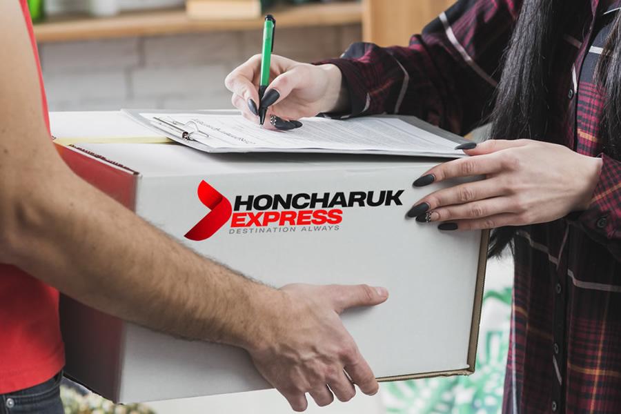 serviço entrega honcharuk express